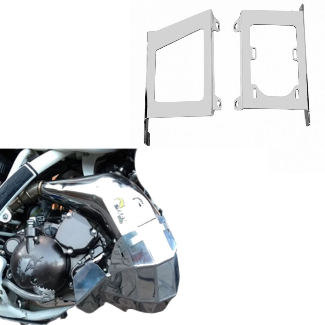 S325+S347 Protetor de motor cano e radiador MXF 250 TS