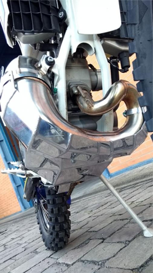 S347+348 Protetor De Motor / link de balança Mxf 250 Ts 2018 - 2019