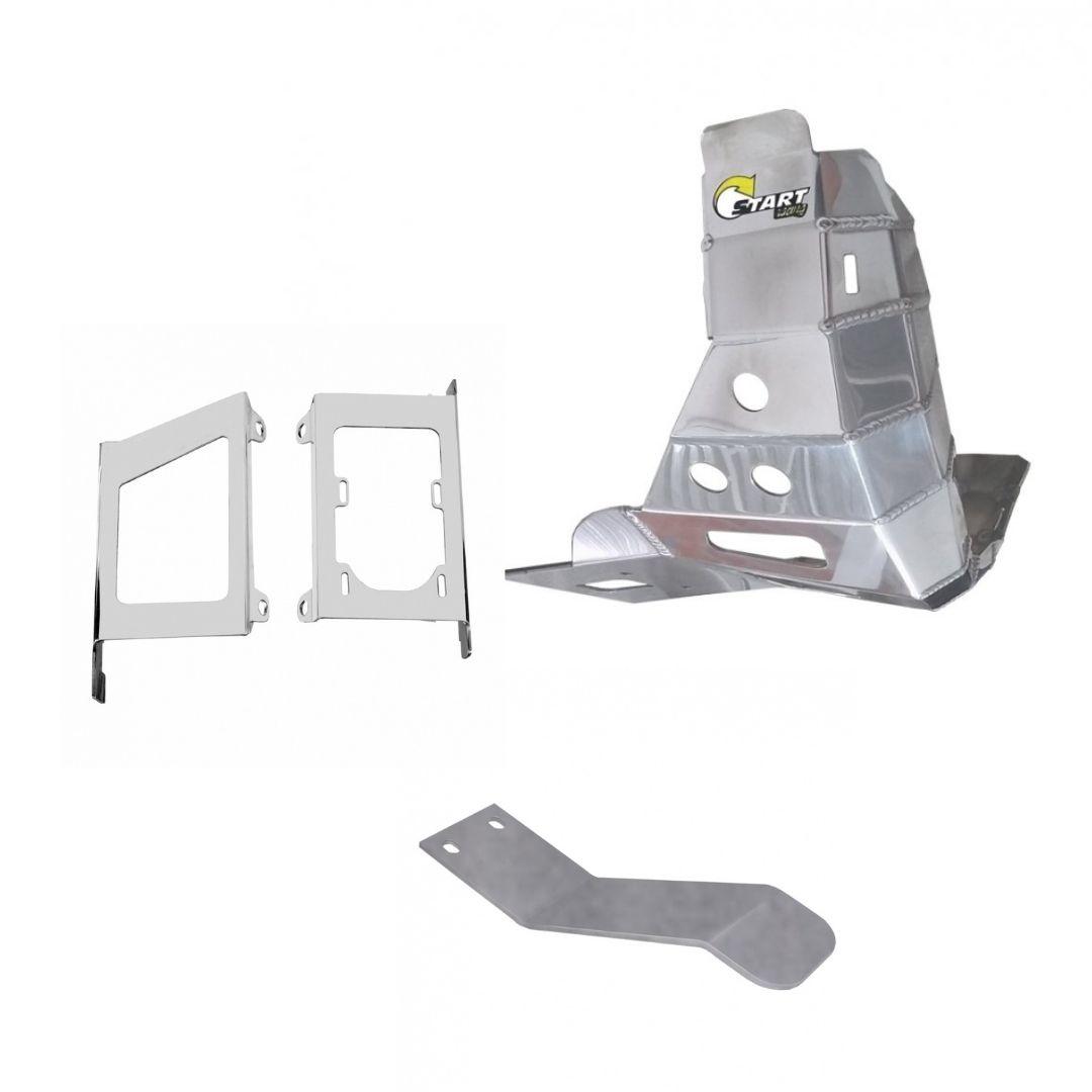 S442+348+325 Protetor de motor balança radiador MXF 250 TS 2021