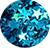 Estrela Azul Turquesa