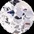 Diamante 3D Perola Prata