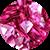 Diamante 3D Rosa