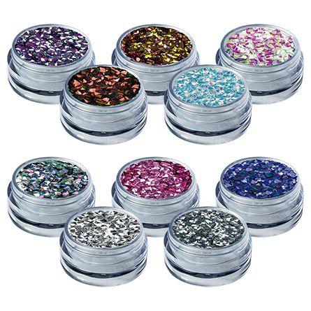 Glitter Shine Diamante 3D