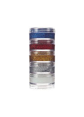 Kit Glitter Cremoso com 5 cores