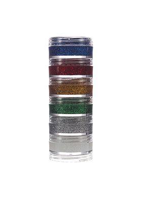 Kit Glitter Cremoso com 6 cores