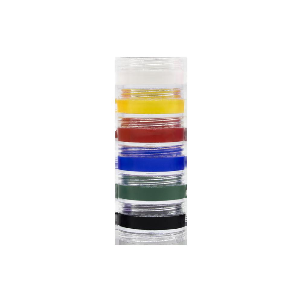 Kit Tinta Cremosa 6 cores