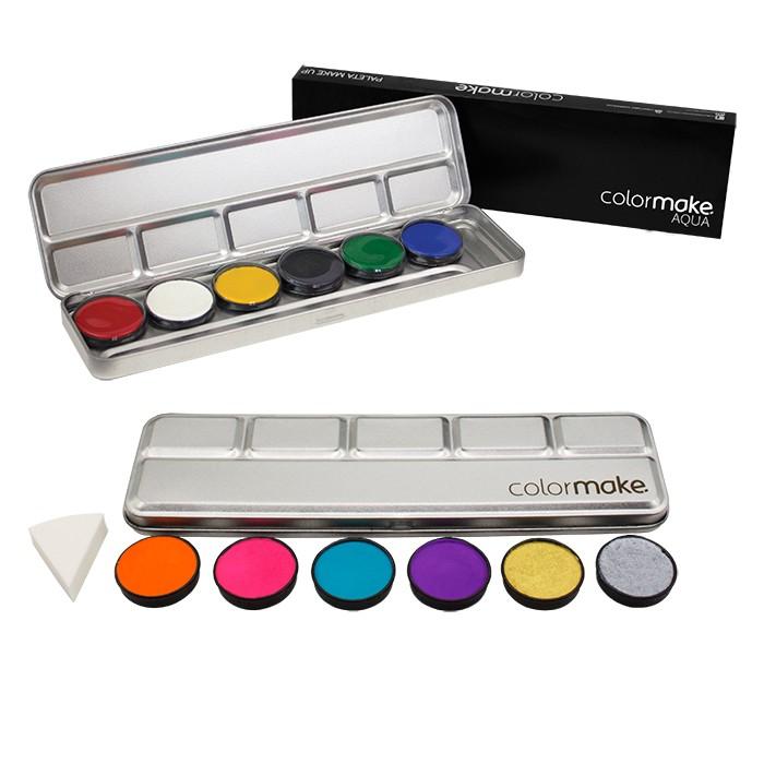Paleta Aqua Color 6 cores