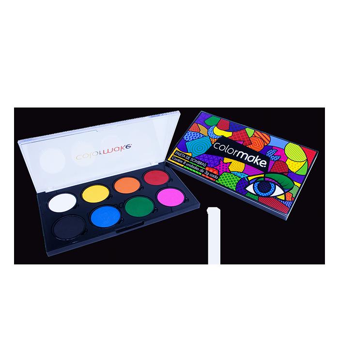 Paleta de Sombras + Kit para Efeitos Especiais