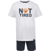 Conjunto Not Tired Bermuda Moletom