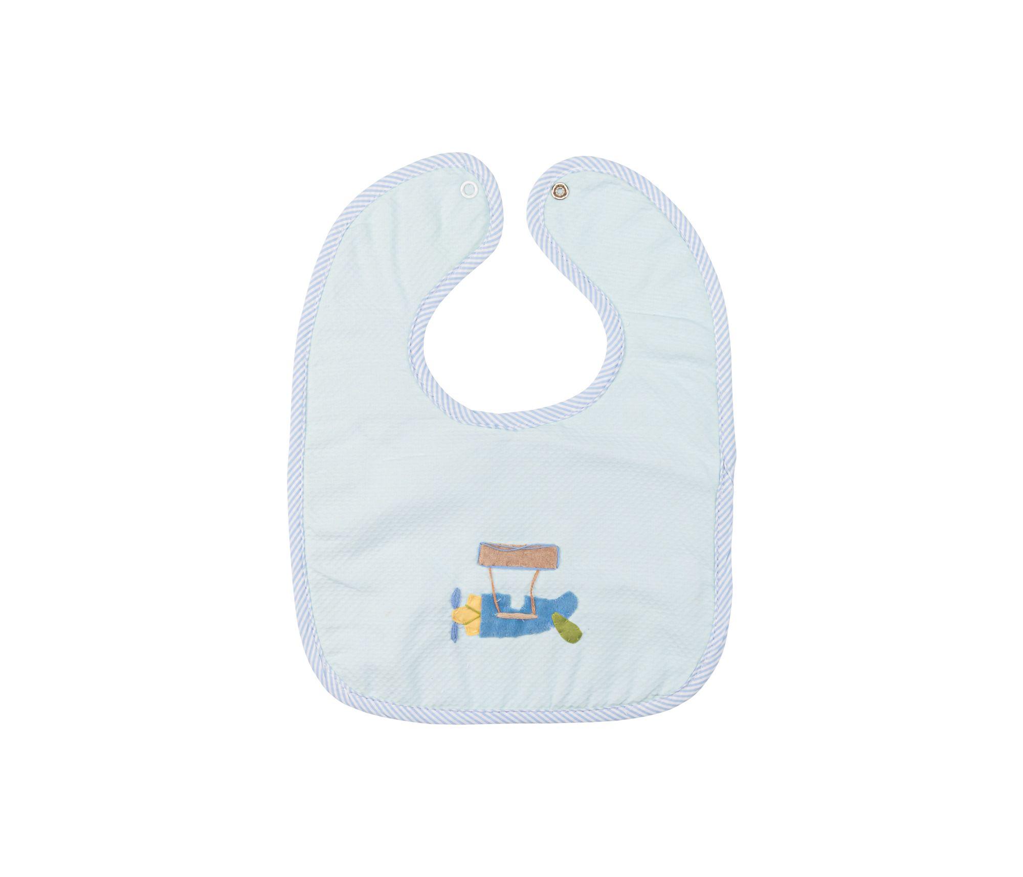 Babador Forrado com Plástico  Aviador Baby