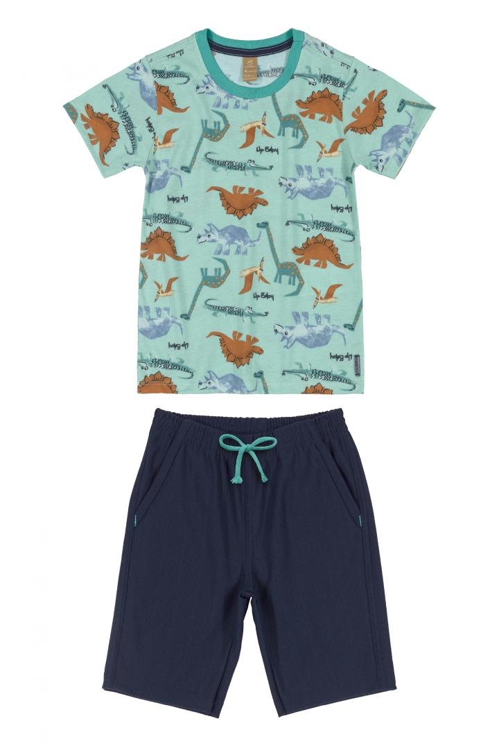 Conjunto Camiseta de Malha e Bermuda 43227
