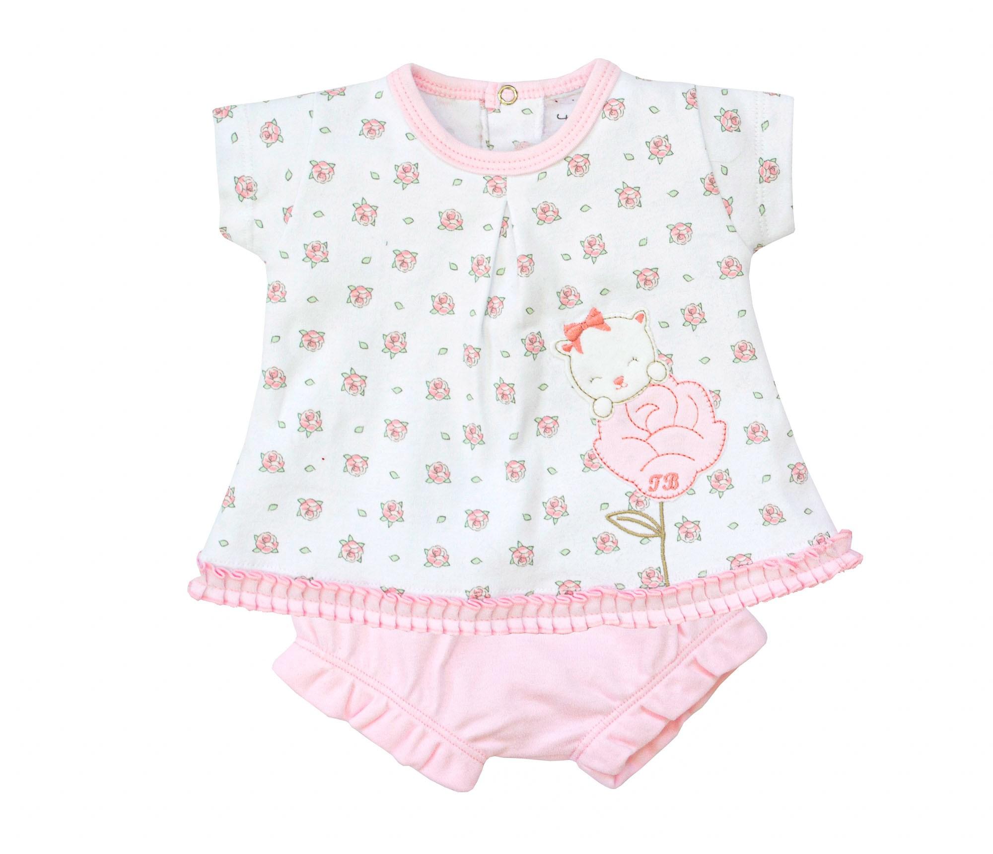 Conjunto Gatinha Flor 213204