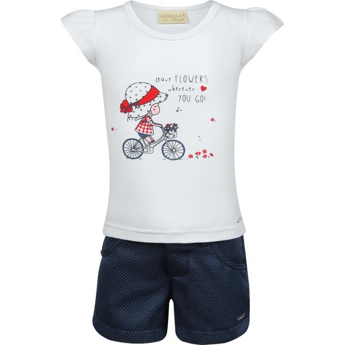 Conjunto Menina Bicicleta