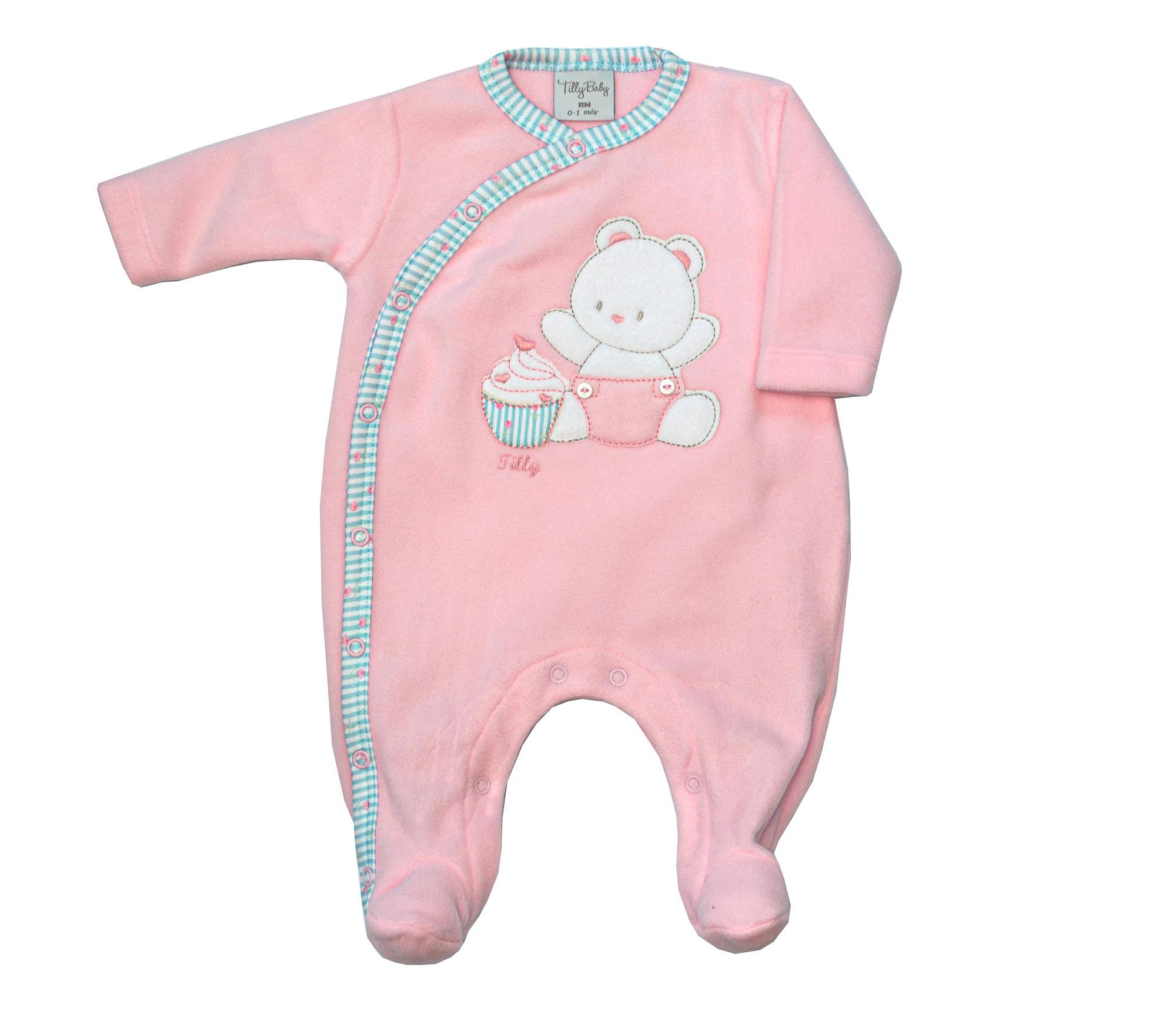 Macacão Soft Ursa Bebê 212252