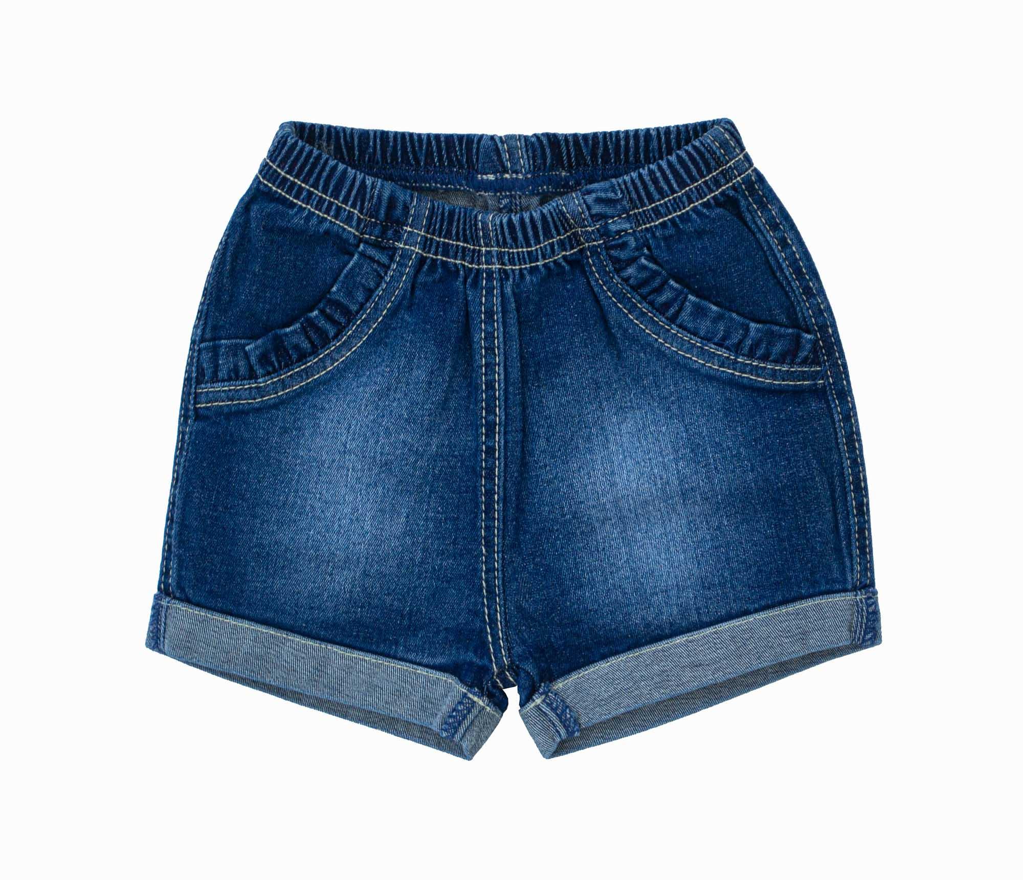Shorts Jeans Feminino 213002