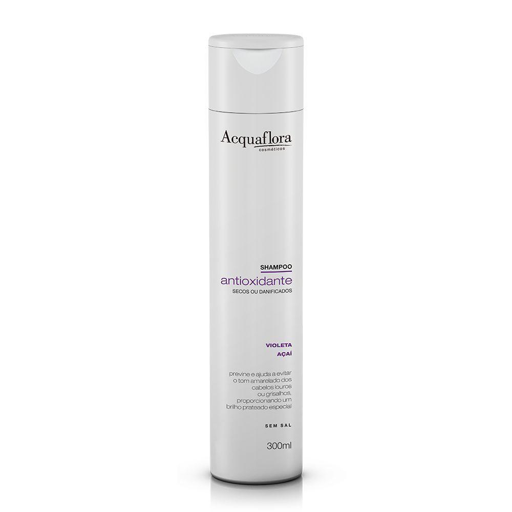 Shampoo Acquaflora Antioxidante secos ou danificados