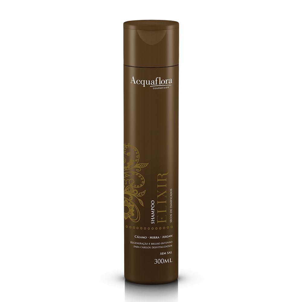 Shampoo Acquaflora Elixir secos ou danificados