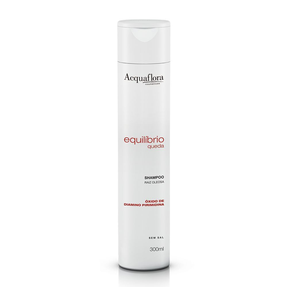Shampoo Acquaflora Equilíbrio Queda Raiz Oleosa