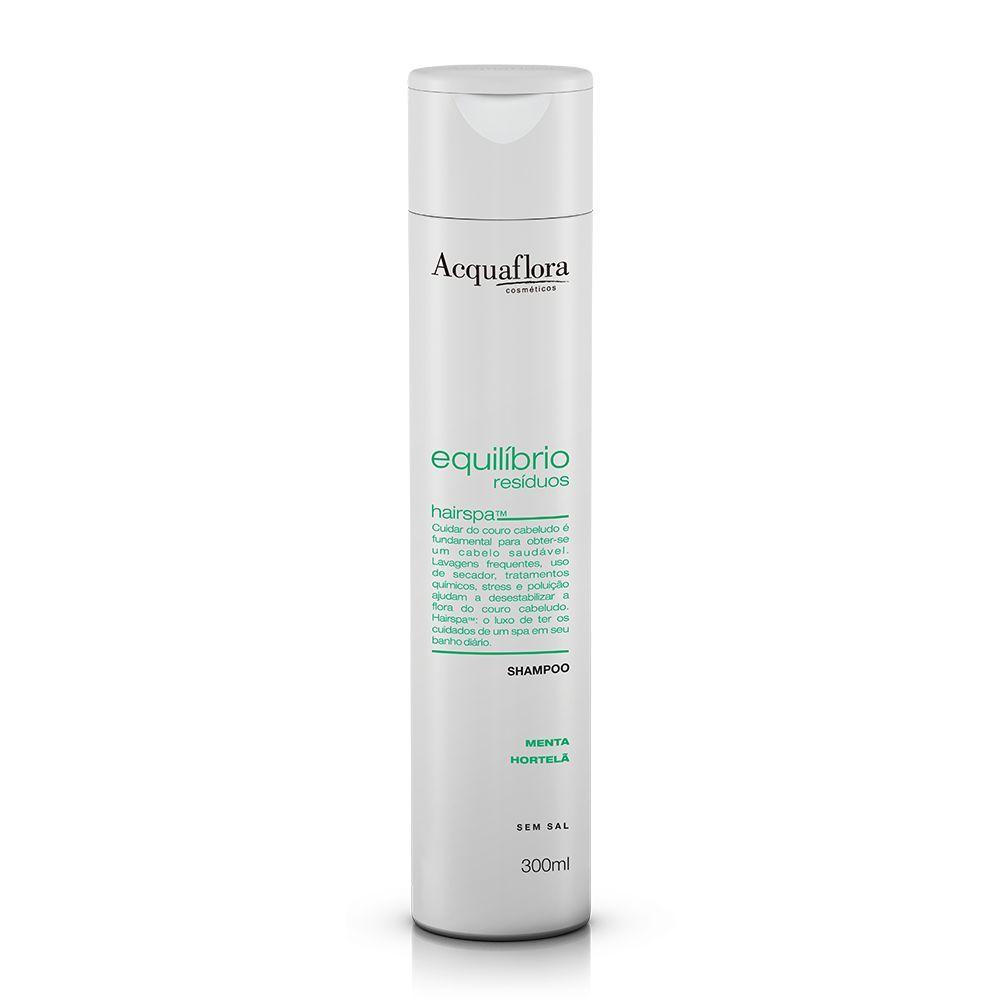 Shampoo Acquaflora Equilibrio Residuos