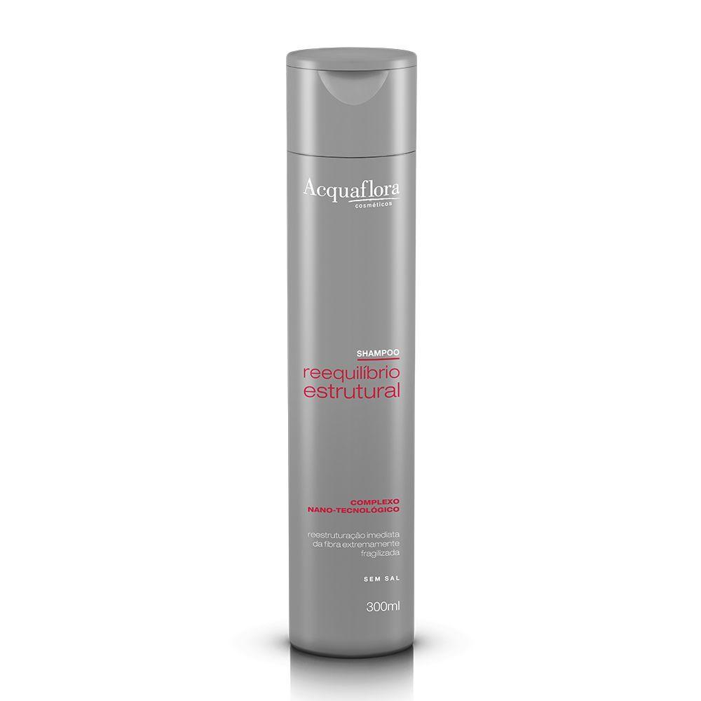 Shampoo Acquaflora Reequilíbrio Estrutural