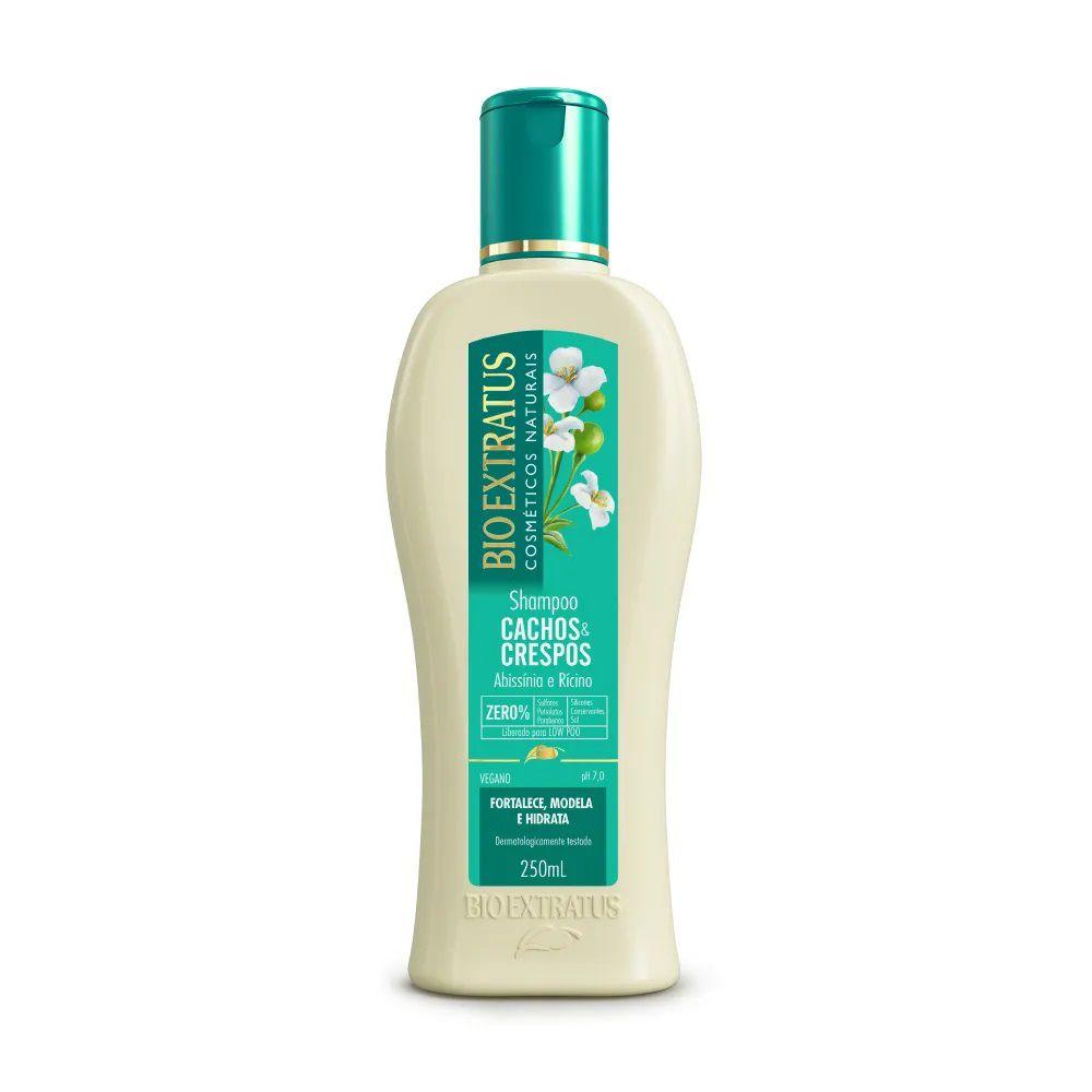 Shampoo Cachos & Crespos 250mL - BIO EXTRATUS