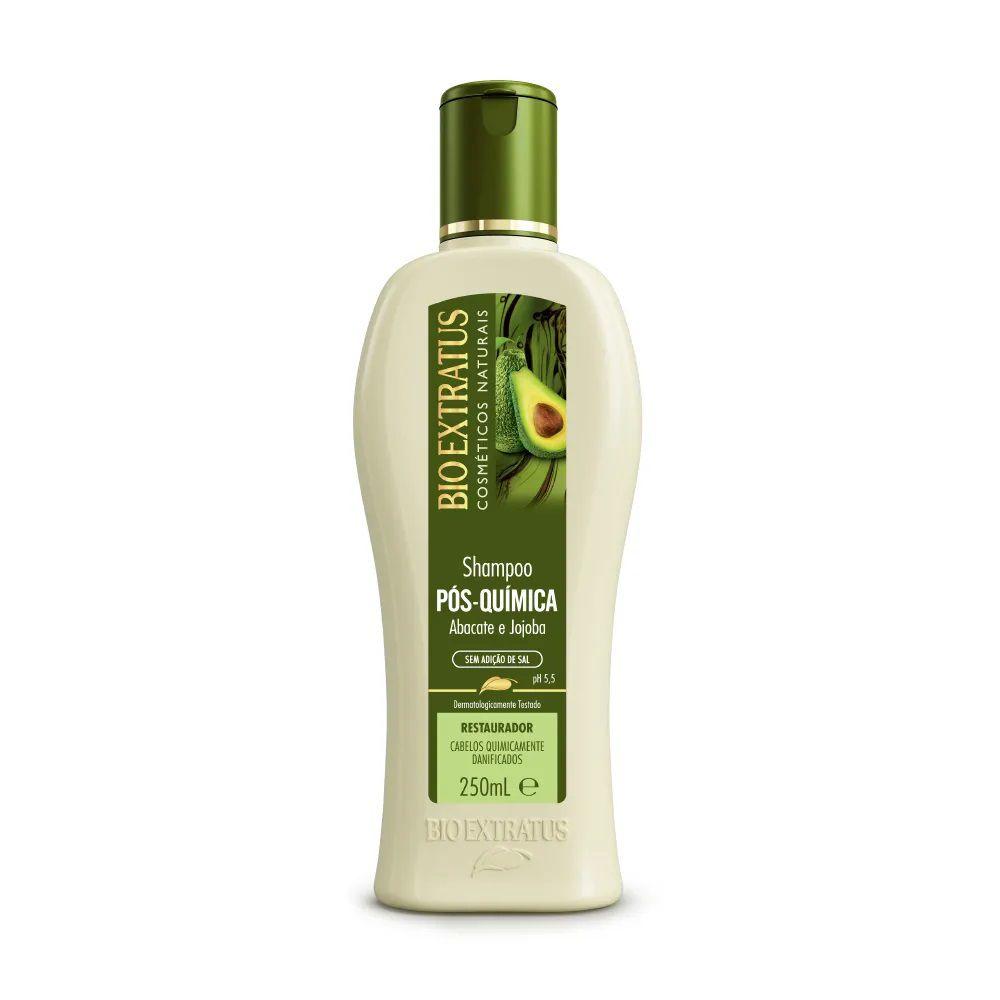 Shampoo Pós-Química 250mL - BIO EXTRATUS
