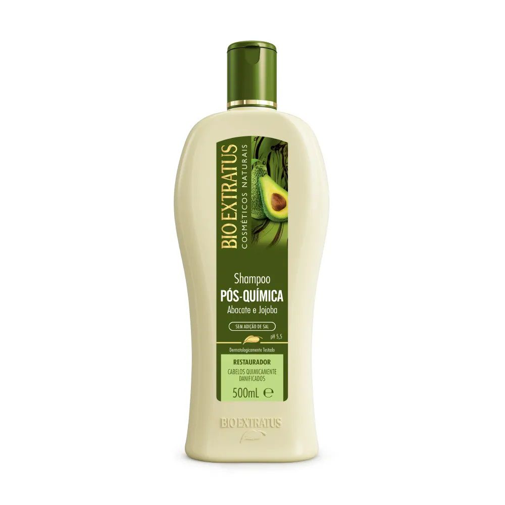 Shampoo Pós-Química 500mL - BIO EXTRATUS