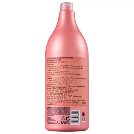 Shampoo Professionnel Serie Expert Infocer 1500ML - L'Oréal