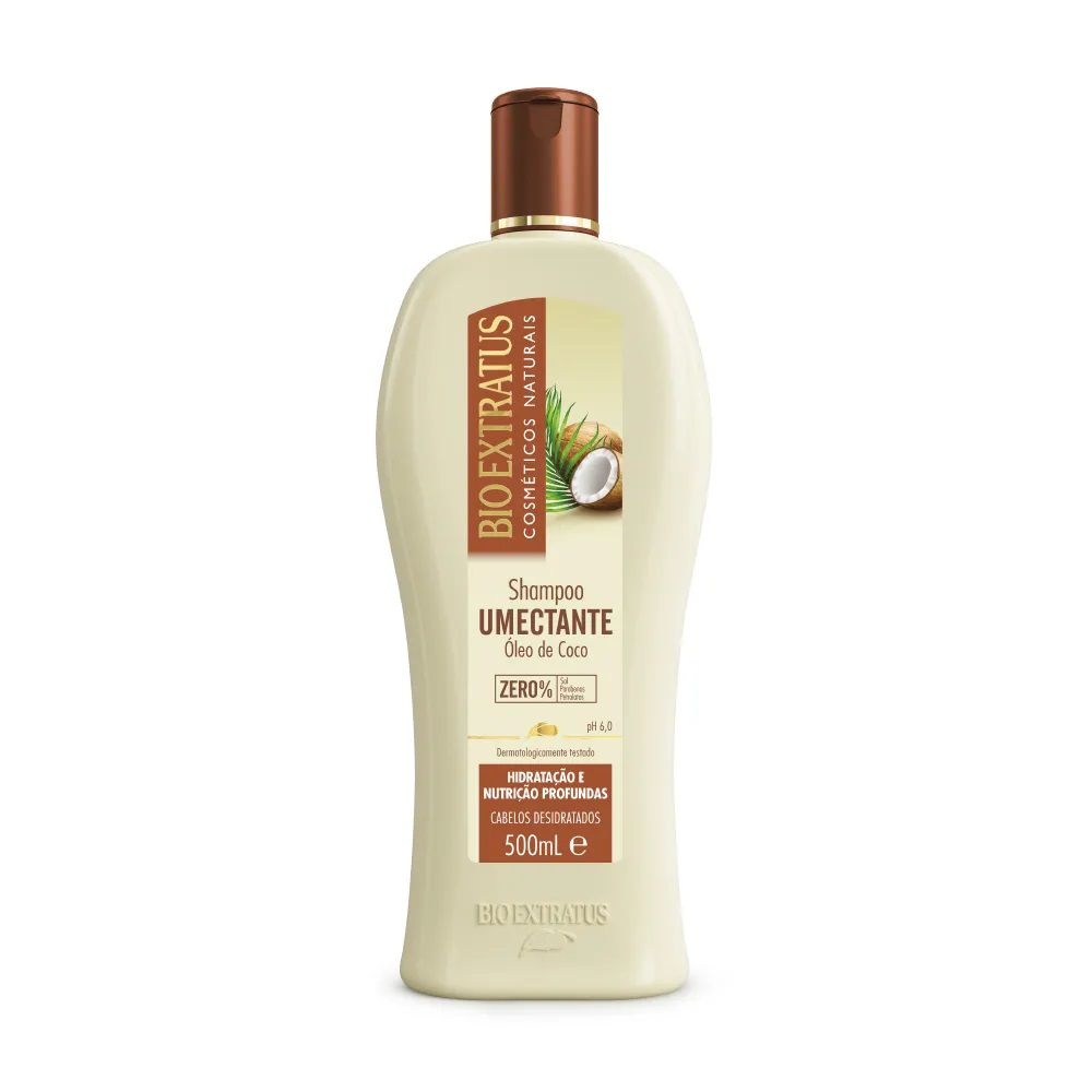 Shampoo Umectante 500mL - BIO EXTRATUS