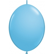 BALÃO 12 POLEGADAS Q-LINK AZUL CLARO - PC 50 QUALATEX #65223