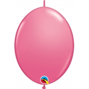 BALÃO 12 POLEGADAS Q-LINK ROSA MEXICANO - PC 50 QUALATEX #65227