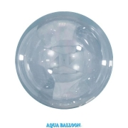 BALÃO AQUA BALLOONS - CLEAR - 125MM - UNITARIO - QUALATEX #12035U