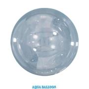BALÃO AQUA BALLOONS - CLEAR - 235MM - PACOTE COM 10 - QUALATEX #12040
