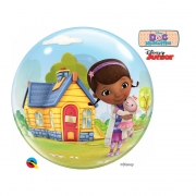 BALÃO BUBBLE DOC MCSTUFFINS DA DISNEY - 22 POLEGADAS  - QUALATEX #65575
