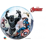 BALÃO BUBBLE MARVELS AVENGERS CLASSIC - 22 POLEGADAS  - QUALATEX #87459