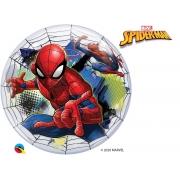 BALÃO BUBBLE MARVELS  SPIDIER-MAN WEB SLINGER - 22 POLEGADAS  - QUALATEX #54052