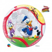 BALÃO BUBBLE MICKEY E SEUS AMIGOS DA DISNEY - 22 POLEGADAS  - QUALATEX #41067
