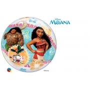 BALÃO BUBBLE MOANA DA DISNEY - 22 POLEGADAS  - QUALATEX #48722