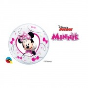 BALÃO BUBBLE PARA VARETA MINNIE DA DISNEY - PC10 UN. QUALATEX #22880