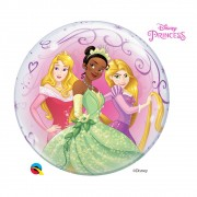 BALÃO BUBBLE PRINCESAS DA DISNEY - 22 POLEGADAS  - QUALATEX #46725
