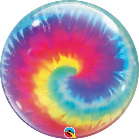 BALAO BUBBLE TIE DYE ESPIRAL - 22 POLEGADAS - QUALATEX #13084