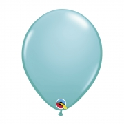 BALÃO DE LÁTEX AZUL CARIBE 11 POLEGADAS - PC 25UN - QUALATEX #78079