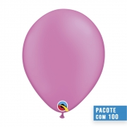 BALÃO DE LÁTEX MAGENTA NEON 11 POLEGADAS - PC 100UN - QUALATEX #74577