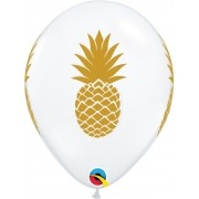 BALÃO DE LÁTEX PINEAPPLE 11 POLEGADAS - PC 50UN - QUALATEX #57440