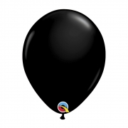 BALÃO DE LÁTEX PRETO ÔNIX 11 POLEGADAS - PC 25UN - QUALATEX #39868