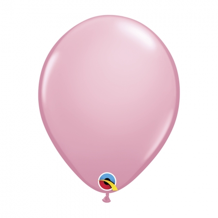 BALÃO DE LÁTEX ROSA 11 POLEGADAS - PC 6UN - QUALATEX #17457