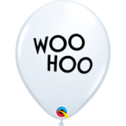 BALÃO DE LÁTEX SIMPLY WOO HOO 11 POLEGADAS PC 50 -  QUALATEX #87919