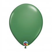 BALÃO DE LÁTEX VERDE 11 POLEGADAS - PC 6UN - QUALATEX #17454