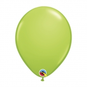 BALÃO DE LÁTEX VERDE LIMA 11 POLEGADAS - PC 6UN - QUALATEX #17524
