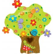 BALÃO METALIZADO ENCHANTED TREE IN BLOOM - 37 POLEGADAS - QUALATEX #26454